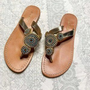 Matisse Beaded Embellished Boho Sandals Size 7